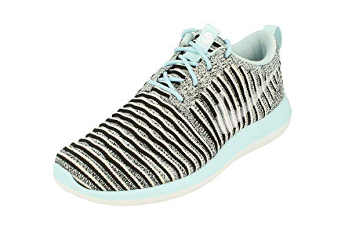 Nike Womens Roshe Two Flyknit Running Trainers 844929 Sneakers Shoes (uk 5.5 us 8 eu 39, glacier blue white black 402)
