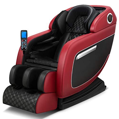 ZHJIUXING ZH Automatische elektrische Körpermultifunktion Massagesessel Relax Entspannungssessel Massage Sessel Fernsehsessel,4 Massagemodi, C