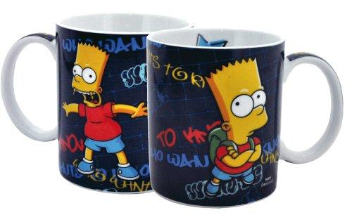 Simpsons Keramik Tasse Bart