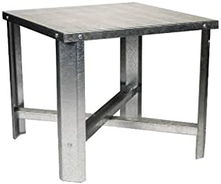 Oatey 34057 Galvanized Water Heater Stand, 21-Inch Square by 18-Inch High by Oatey