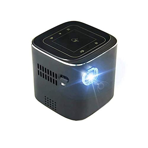 SHUNFENG-EU Mini proyector admite Full HD 1920x 1080p DLP WiFi portátil Blue-Too-TH LED Battery Proyector de Hogar