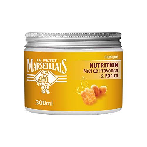 Le Petit Marseillais Mascarilla Nutrición para cabellos secos y dañados, miel de Provence & Karité, 300 ml