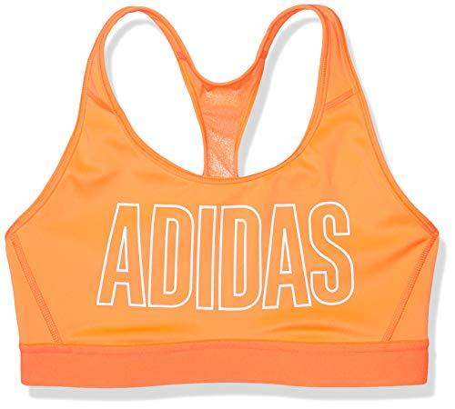 Adidas - Sujetador para mujer - GOD94, brasier Alphaskin Don't Rest, XL, Rojo (Solar Red)