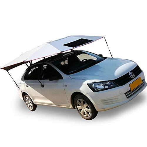 LIXIONG Ombrello Automatica per Auto All'aperto Mobile Posto Auto Coperto Folded Macchine Protezione Ombrello Portatile Ombra del Sole Antifurto A Prova di Vento, Campeggio (Size : 3.3x2.7cm)