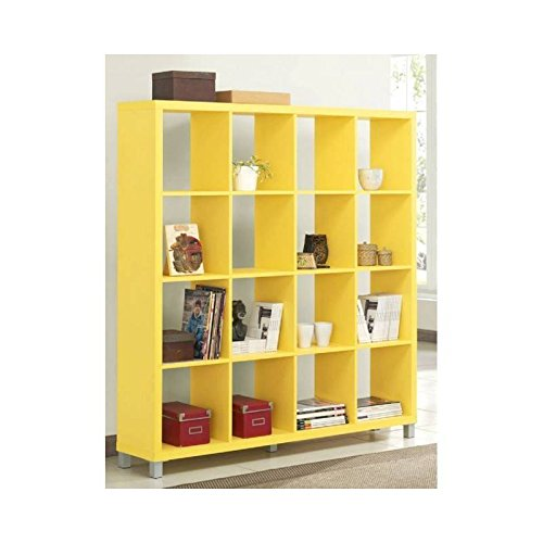 Kit Closet Estanteria Kubox 4*4 Amarillo 65044