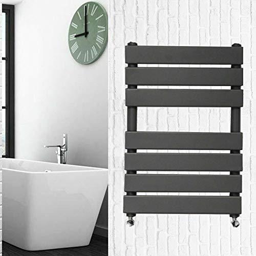 Xinng 650x500mm Verwarming Handdoek Rail Radiator Vlakke Panel Wandmontage Verticale Antraciet Stijl voor Badkamers BTU 1189-20 Jaar Garantie