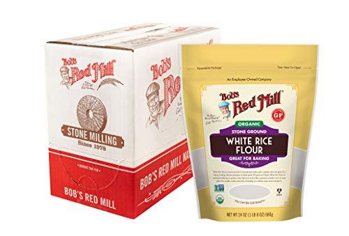 Bob's Red Mill Organic White Rice Flour, 96 Oz