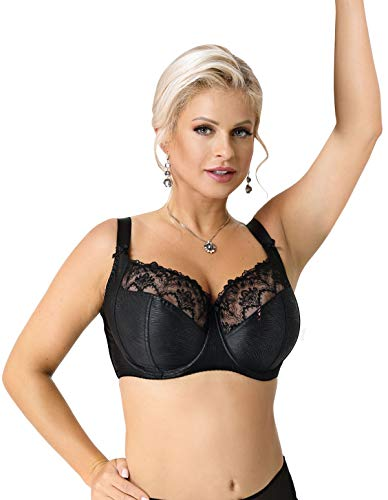 Nessa Women's Clarisse Black Non-Padded Underwired Soft Bra 30N