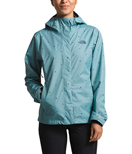 The North Face Women's Print Venture Jacket, Storm Blue Outdoor Print, Size XL