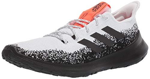 adidas Sensebounce + Zapatillas de running para hombre, Blanco (blanco/negro/rojo (White/Black/Solar Red)), 40 EU