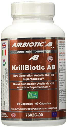 Airbiotic Complemento Alimenticio KrillBiotic AB, 90 Capsulas
