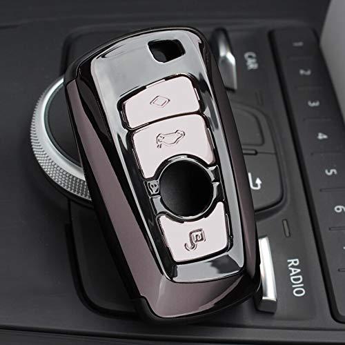 Nuevo Soporte de Cubierta de Carcasa de Llave de Coche ABS con Llavero con Hebilla para BMW F07 F10 F11 F20 F25 F26 F30 Pistola