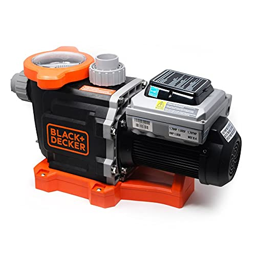 BLACK+DECKER Variable Speed In Ground Swimming Pool Pump (1.5 HP)