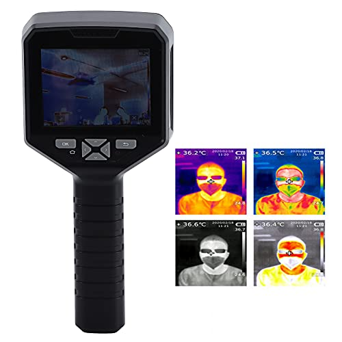 Generador de imágenes HD de pantalla grande, cámara de imagen térmica Carga USB Pantalla grande de alta definición ABS para energía eléctrica para reparación de automóviles