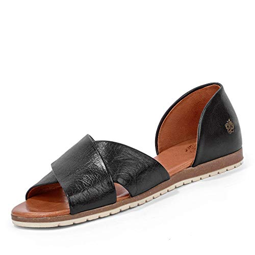 Apple of Eden CHIUSI 1 - Damen Schuhe offene Schuhe - Black, Größe:37 EU
