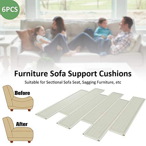 iBàste – Cojín de Apoyo para sofá, Quick Fix, para Muebles de jardín, 6 Pastillas