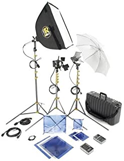 Lowel DV 500 Lighting and Accessories Kit with TO-83 Case