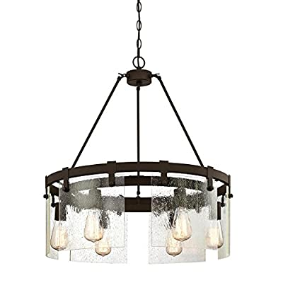 Westinghouse Lighting 6352200 Chandelier, Oil Rubbed Bronze