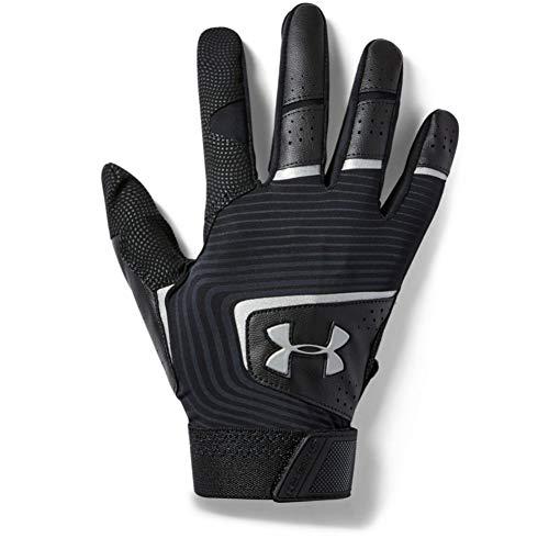 Under Armour Men's Clean Up 19 Baseball Gloves , Black (005)/Graphite , Medium