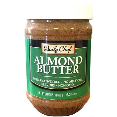 Daily Chef Almond Butter Max 40% OFF 24 Max 54% OFF of jar oz. 2 pack