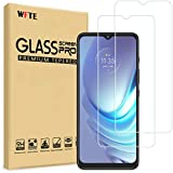 WFTE [2-Pack] Cristal Templado Motorola Moto G8 Power Lite/Moto G9 Play/Moto E7/Moto E7 Plus Protector de Pantalla,9H Dureza,Libre de Polvo,Huellas Dactilares Libre,Libre de Burbujas Cristal Templado