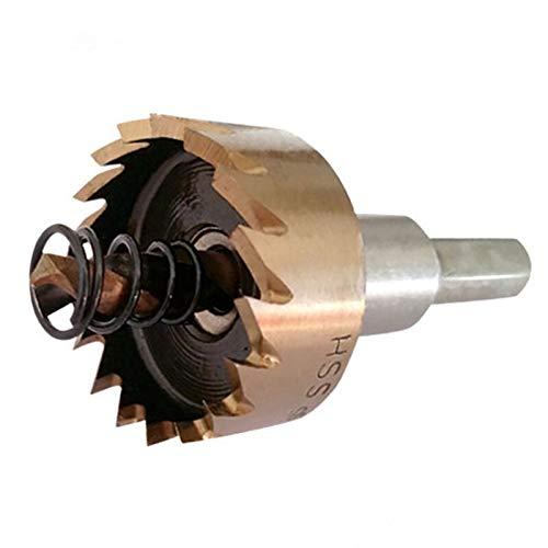 ZT-TTHG Drills Bit for Metal Iron Plate Opening Punchers M35 Cobalt Core Drill Bit Brocas para Metal Foret (Hole Diameter : 50mm, Shank Shape : Hexagonal)