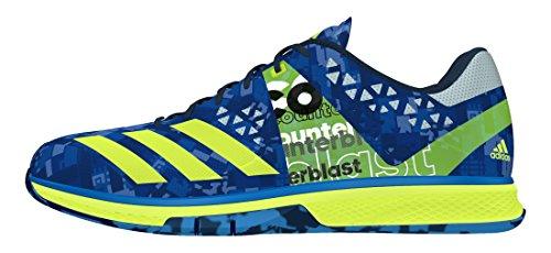 adidas Herren Counterblast Falcon Handballschuhe, Blau Imp Blau Amasol Blau HIE, 48 EU