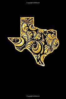 Texas Blank Notebook: Texas Women Writing Journal