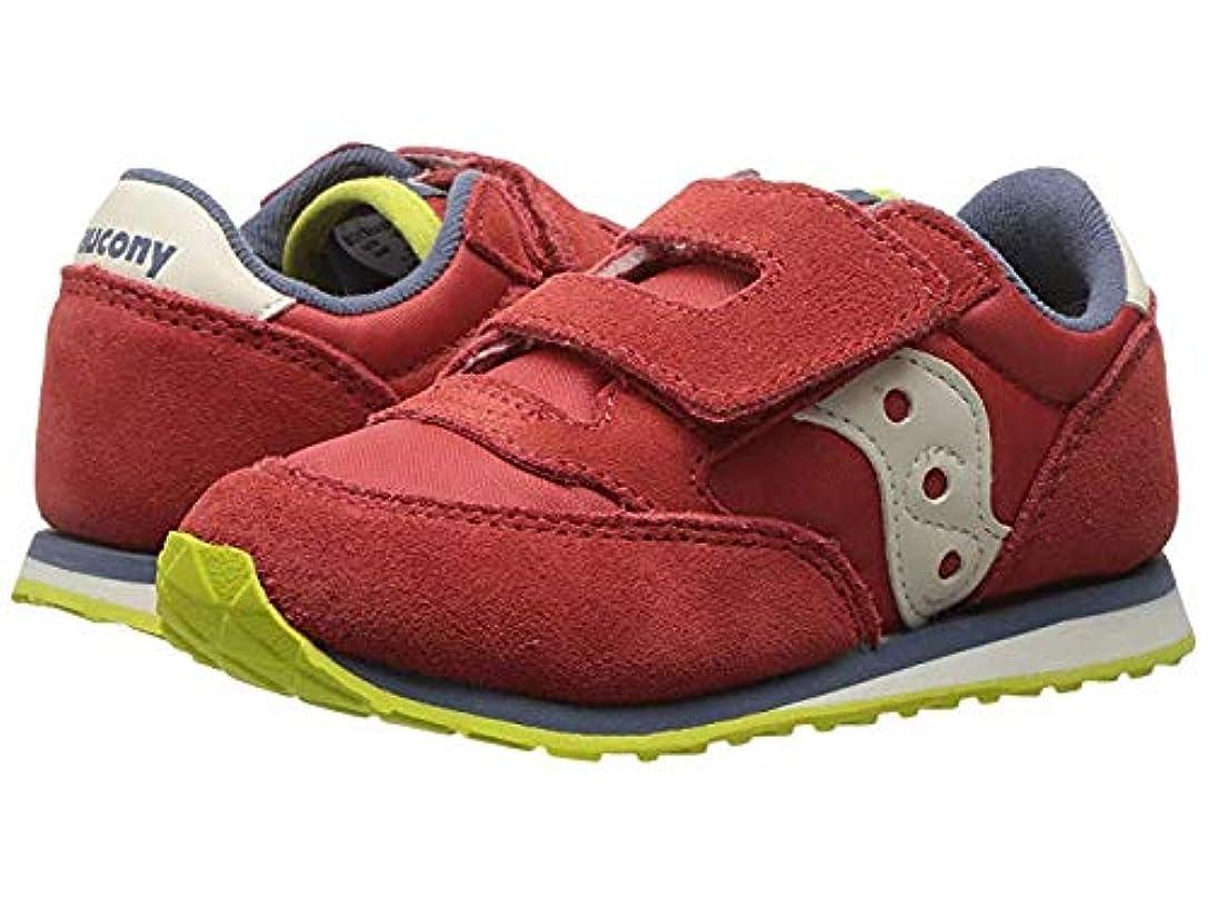 添付天気テープ[サッカニー] キッズカジュアルシューズ?靴 Originals Jazz Hook & Loop (Toddler/Little Kid) Red/Blue/Lime 13.5cm M [並行輸入品]