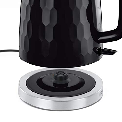 41fudf3ggtL. SS500  - Russell Hobbs 26051 Cordless Electric Kettle - Contemporary Honeycomb Design with Fast Boil and Boil Dry Protection, 1.7…