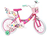 Denver Bicycle Disney Minnie Bicicleta, niña, Rosa, 16 Pulgadas
