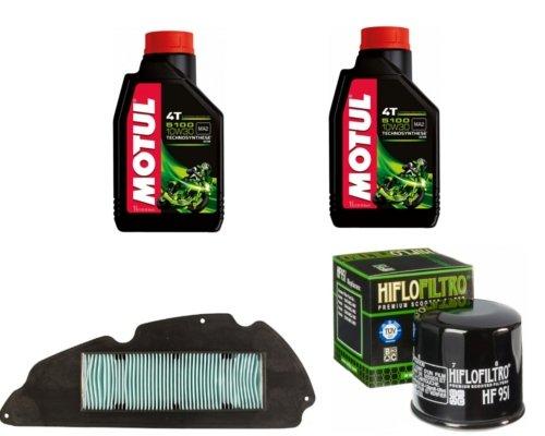 Motul 5100 10W30 Ölfilter + Luftfilter für Honda SH 300
