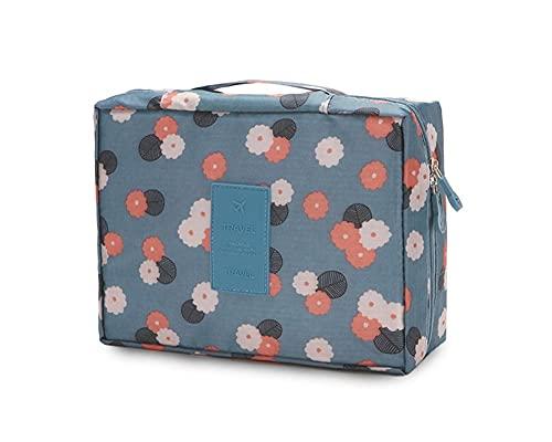 BHUYGV Artiste Stockage Maquillage Bag Organiseur Sacs De Toilette Sacs Cosmétique Case Organisateur Professionnel Réglable Cosmétiques (Color : A)