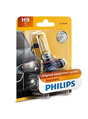 Philips H1 Standard Replacement Bulb, (Pack of 1)