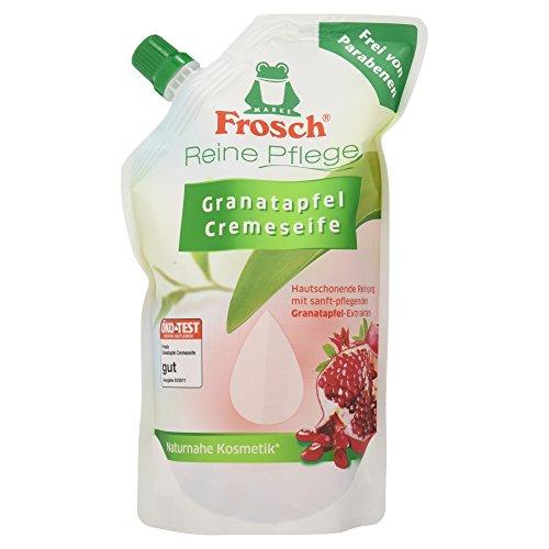 Frosch Reine Pflege Granatapfel Cremeseife Nachfüllbeutel, 500 ml