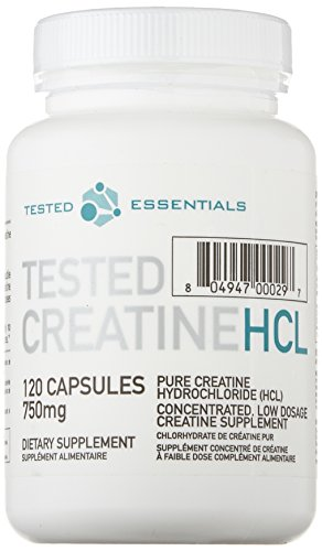 Tested Nutrition Creatine Con-Centrated HCL Kreatin - 120 Kapseln