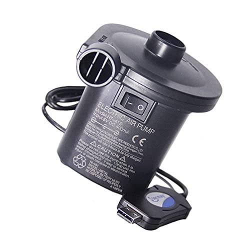 VILLCASE Pompa di Aria Elettrica USB Letti Materasso Ad Aria Pompa Quick- Fill Gonfiatore Deflatore Pompe per Il Campeggio Esterno Cuscini Gonfiabili di Nuoto Anello