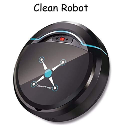 Stofzuiger opladen Automatisch draaien Intelligente veegrobot Stofzuiger Zwart