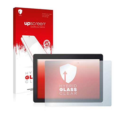 upscreen Hybrid Glass Screen Protector compatible with Lenovo CS TB-X104F - 9H Glass Protection