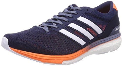 Adidas Adizero Boston 6 M, Zapatillas de Trail Running para Hombre, Azul (Maruni/Ftwbla/Naalre 000), 42 EU