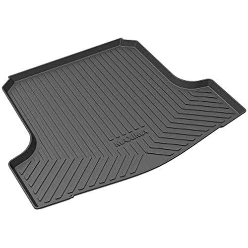 XLUCBS Car Boot Mat TPO Rubber Non-Slip Waterproof Car Rear Trunk Mat Custom Tailored Auto Rear Trunk Accessories, for Nissan Maxima 2016 2017 2018 2019