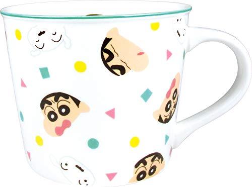 ティーズファクトリー マグカップ カラー ライン マグ フェイシーズ クレヨンしんちゃん パジャマ 9×7.5×9cm KS-5524499PJ