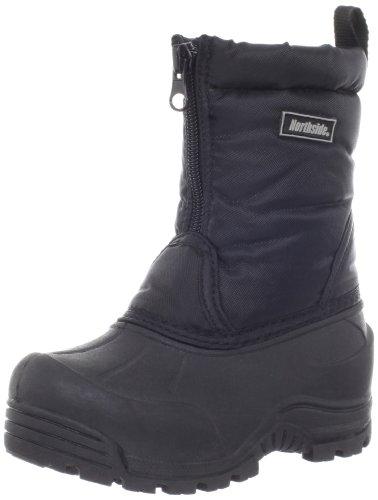 Northside Icicle Winter Unisex Boot (Toddler/Little Kid/Big Kid),Black,5 M US Big Kid