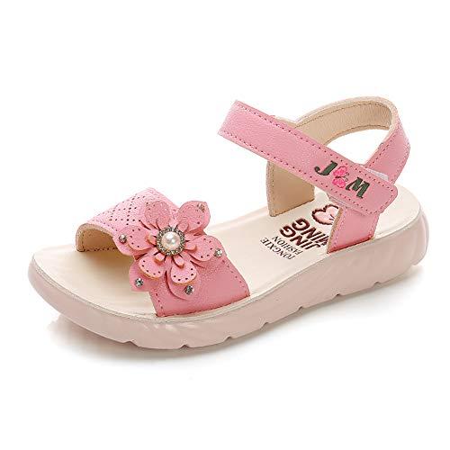 Sandalias con Punta Abierta para Niñas Pequeñas Niño Infantiles Zapatos de Vestir Calzado Verano para 1-6 Años