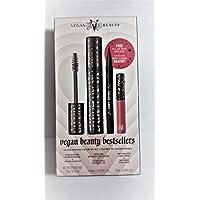 KVD Beauty Vegan Mascara, Liner, Liquid Lipstick Bestsellers Set