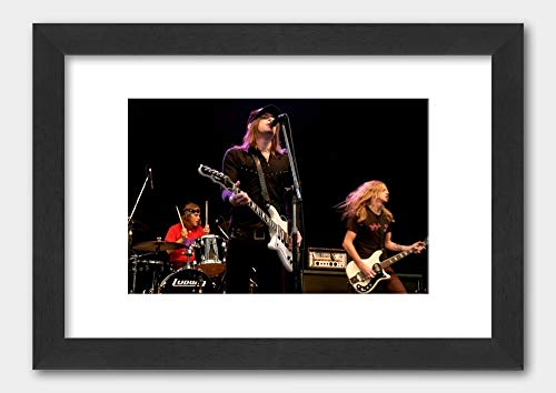 The Hellacopters - Livid Festival Australia 2003 Poster 2 Black Frame 29.7x42cm (A3) White