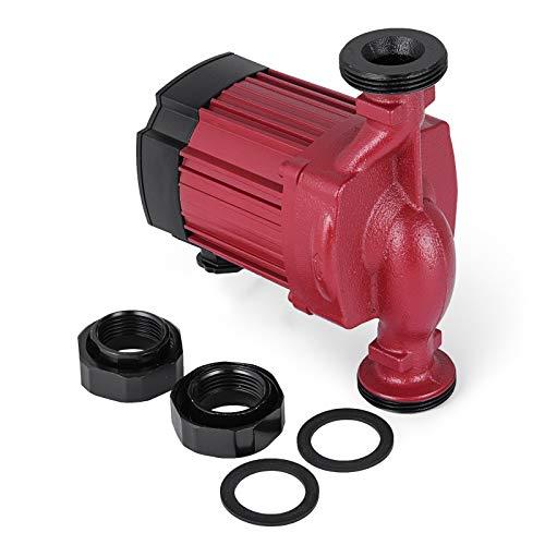 Husuper Bomba de Agua de 220V / 50Hz Bomba Elevadora de Presión de Agua Bomba Sumergible para Pozo de Piscina de Fuente de Acuario de Jardín (LPS25-4)
