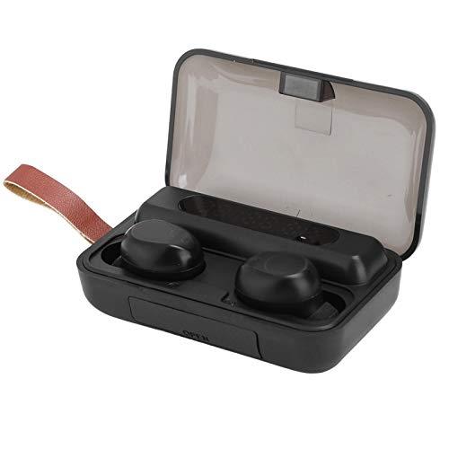 FOLOSAFENAR Auriculares Bluetooth Smart Control Auriculares Smart Control con Pantalla de energía Ligero 5.0 Bajo Consumo de energía, para Deportes, para teléfono móvil
