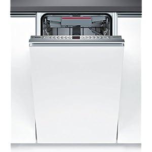 Bosch SPV46MX01E stainless steel Einbau-Geschirrspüler, vollintegrierbar, 45cm, A+, 10 Maßgedecke