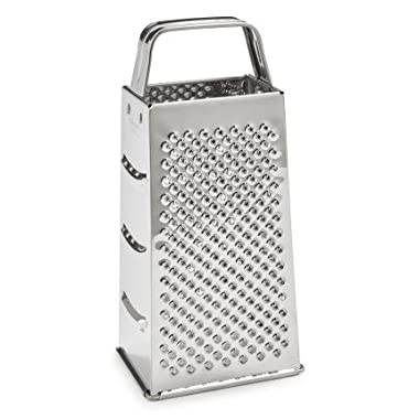 Sur La Table Stainless Steel Four-Sided Grater